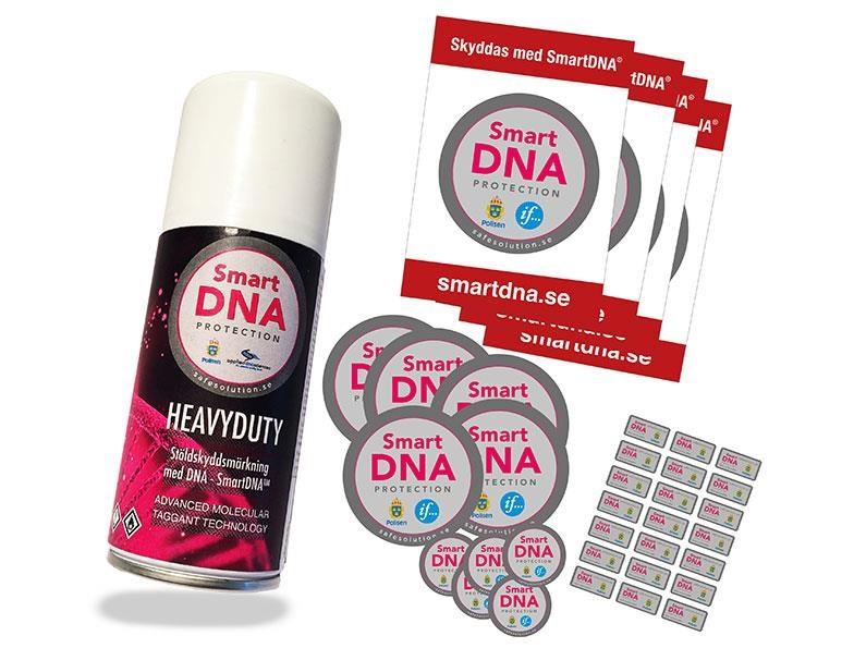 SmartDNA® HeavyDuty/Outdoor LARGE, spray för minst 3200 föremål